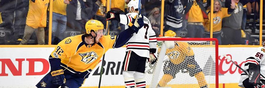 Predators vs Stars NHL Betting Odds & Game Preview.