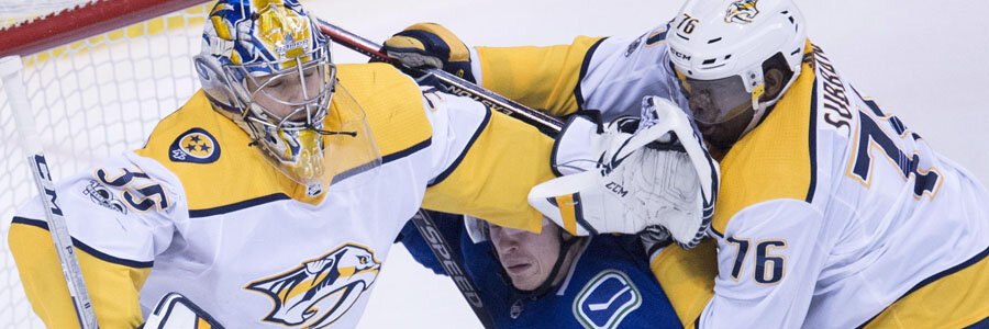 The latest 2018 Stanley Cup Odds to win are no good for Nashville.