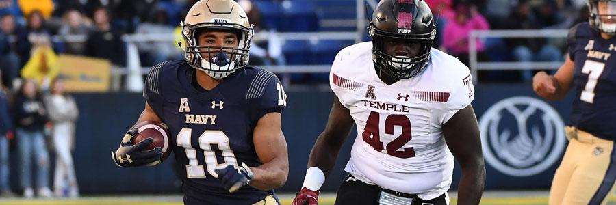 Navy vs Houston 2019 College Football Week 14 Odds, Game Info & Pick.