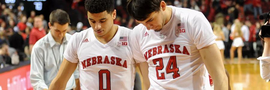 The College Basketball Betting Odds are against Nebraska.