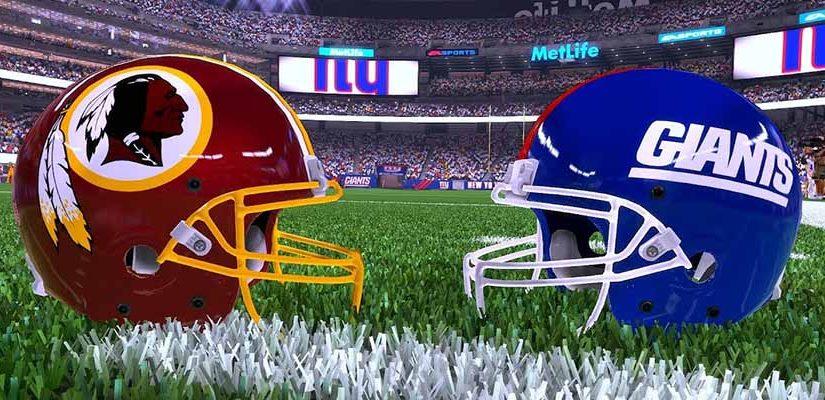 New York Giants vs Washington