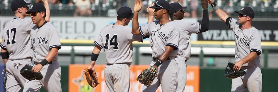 Opening MLB Lines on NY Yankees at Tampa Bay Rays
