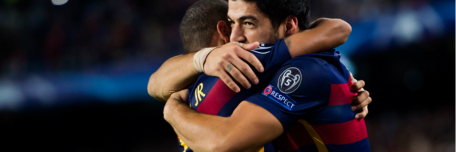 Neymar and Suarez FC BCN