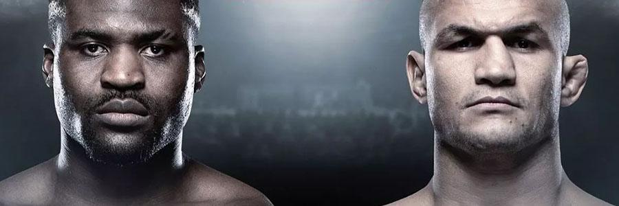 UFC on ESPN Ngannou vs Dos Santos Odds, Preview & Picks.
