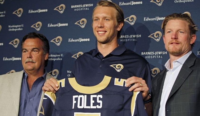 Nick Foles Rams