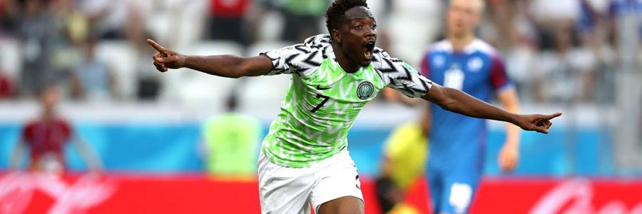 2018 World Cup Group C Betting Analysis: Argentina vs. Nigeria.