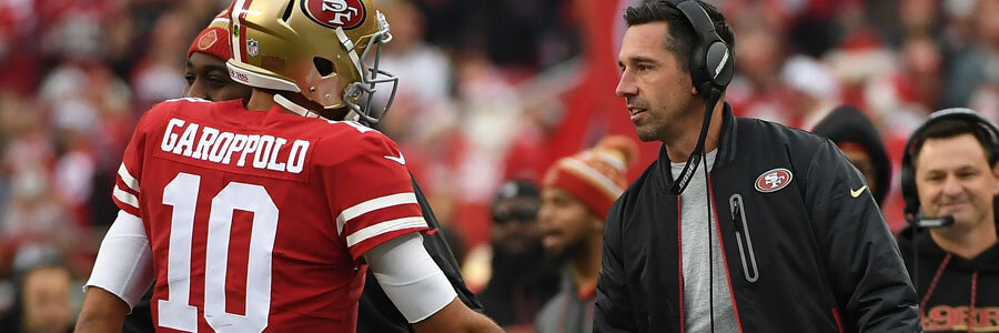 The Niners are favorites against the Panthers in NFL Week 8.