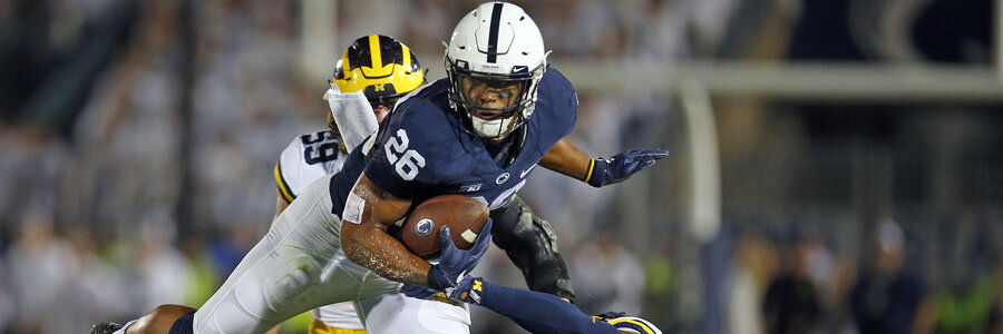 Week 10 NCAAF Odds & Prediction for Penn State vs. Michigan State.