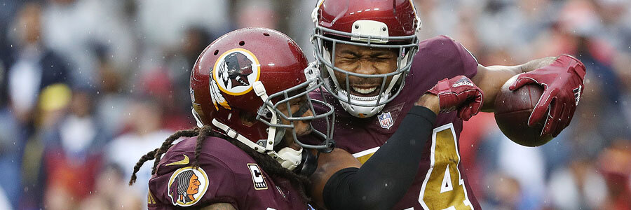 Despite playing at home, the Redskins come in as the Week 10 NFL Lines underdog.