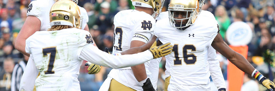 Notre Dame Fighting Irish Mybookie Sportsbook