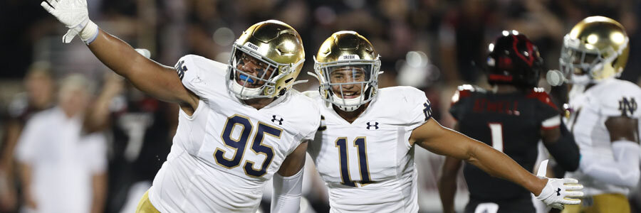 Boston College vs Notre Dame should be an easy one for the Fighting Irish.