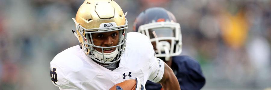 Notre Dame vs Northwestern NCAA Football Week 10 Spread & Pick.