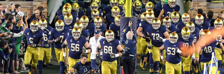 Notre Dame vs Virginia Tech NCAAF Week 6 Odds & Pick.