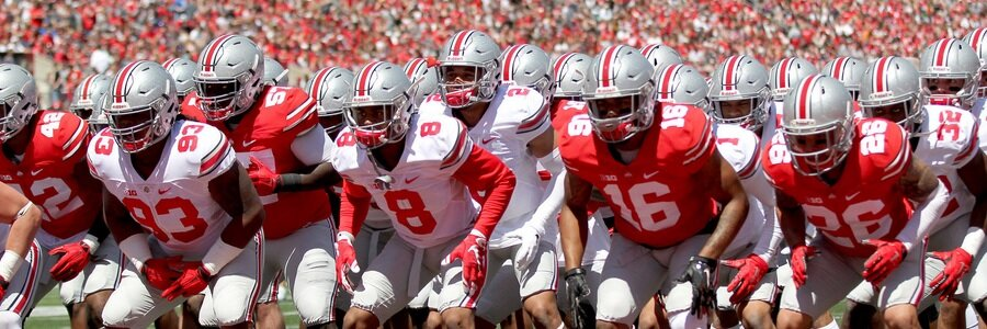 The Buckeyes head into College Football Week 1 as the favorites in the betting odds.