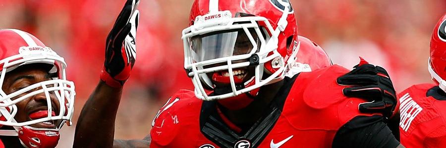 Georgia comes in as huge NCAAF Week 12 Betting Odds favorite.