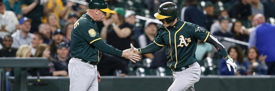 The Athletics are favored by the MLB Odds for Thursday Night.