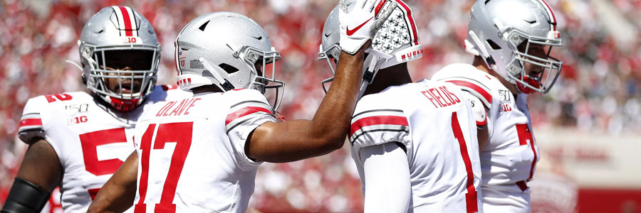 The Buckeyes are favorites for the College Football Week 4.