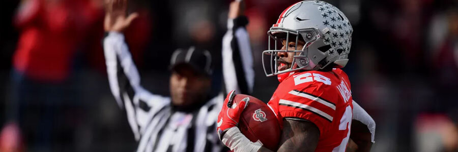 Ohio State vs Maryland NCAA Football Week 12 Odds & Pick.
