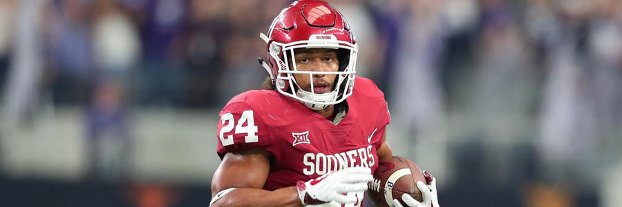 Texas at Oklahoma should be an easy victory for the Sooners.