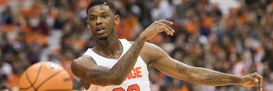 Syracuse vs North Carolina NCAAB Spread & Pick for Tuesday Night.