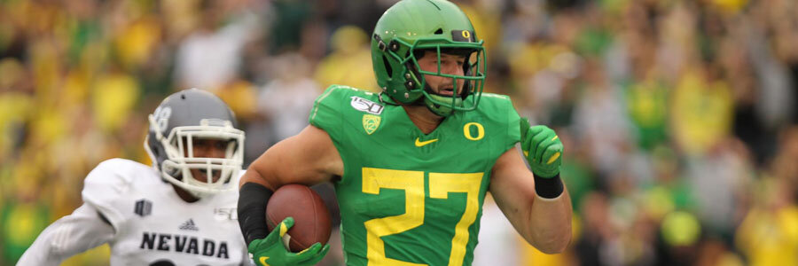 Montana vs Oregon should be an easy one for the Ducks.