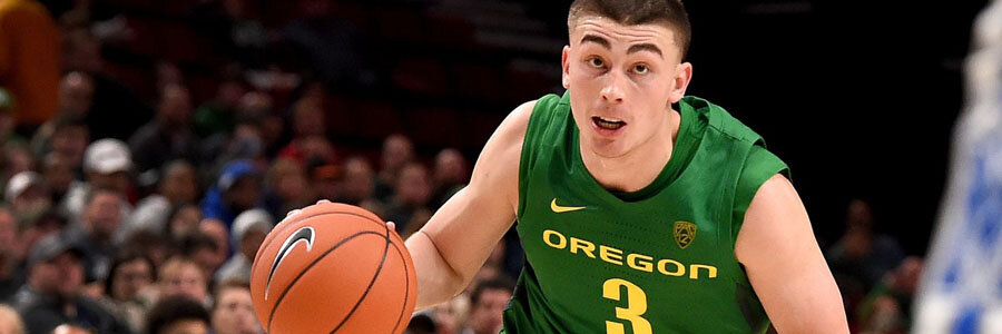 The Ducks are College Basketball Betting favorites.