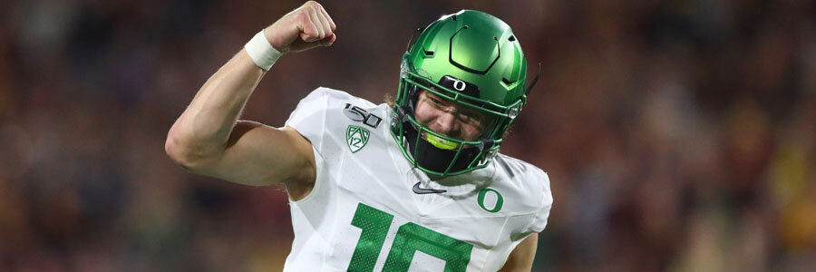Oregon State vs Oregon 2019 College Football Week 14 Spread & Analysis.
