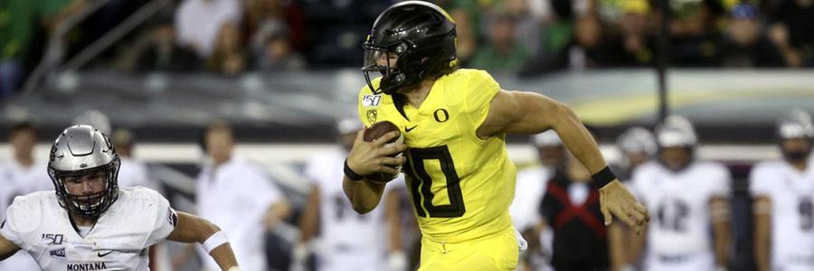 California vs Oregon 2019 College Football Week 6 Lines & Analysis.