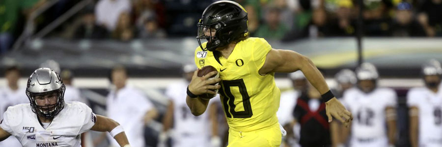 Oregon vs Stanford 2019 College Football Week 4 Odds, Game Info & Pick.