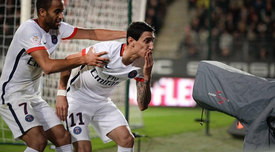 PSG Goal Di Maria