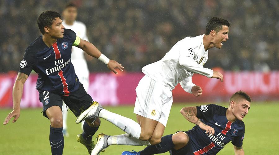 PSG vs Real Madrid UCL
