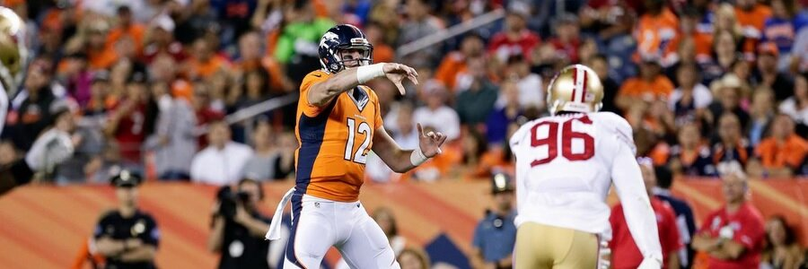 The Broncos head into this NFL Preseason matchup as the betting favorites.