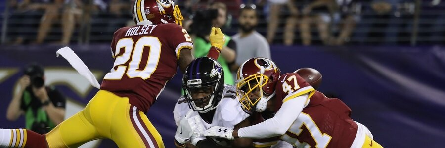 Washington were also a good OVER pick last NFL preseason, going 12-4 O/U, which took their 3-year record to 30-19, which is second only to Oakland during that period.