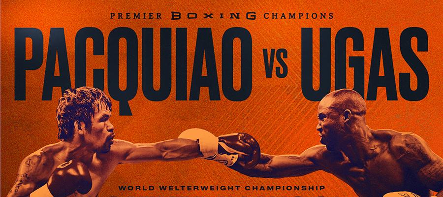 Pacquiao vs Ugas Light Up Las Vegas MGM Grand Highlight Saturday Nights Boxing Card