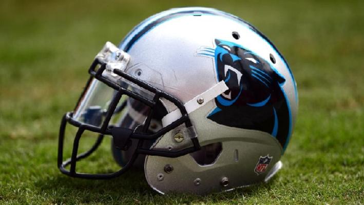 Panthers Helmet 2015