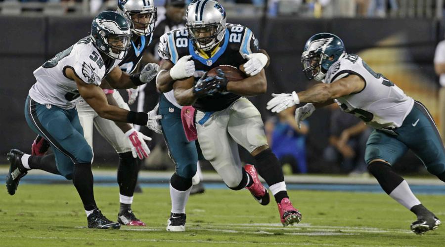 Panthers Rushing Offense