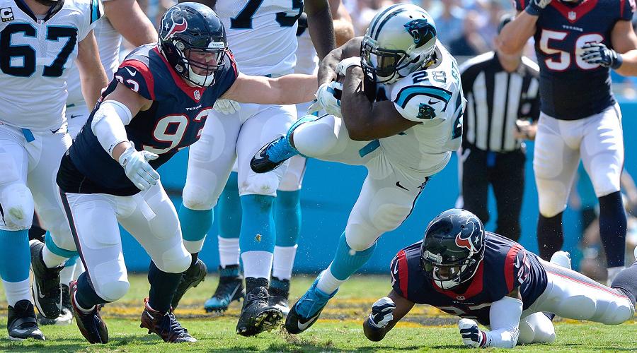 Panthers vs Texans