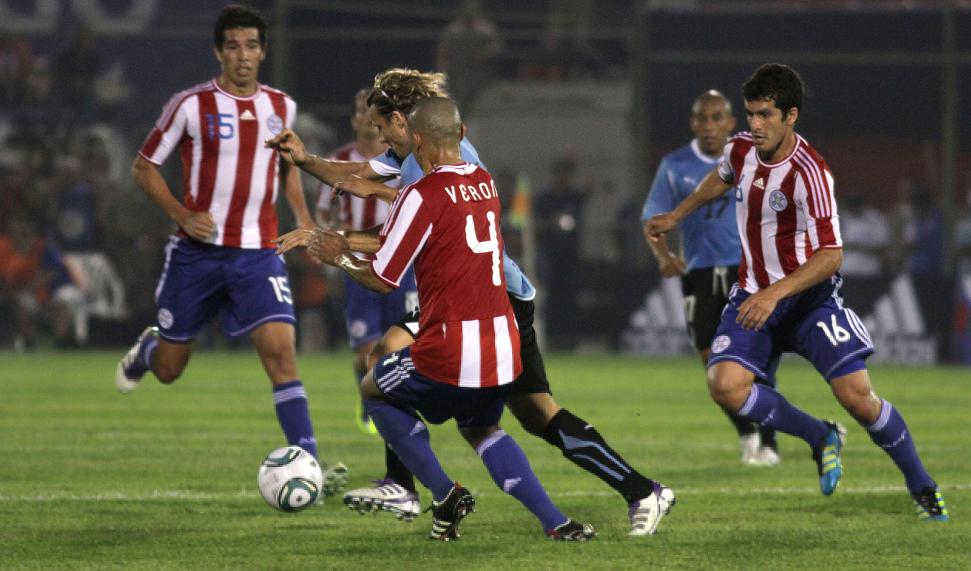 Paraguay vs Uruguay Copa America 2015