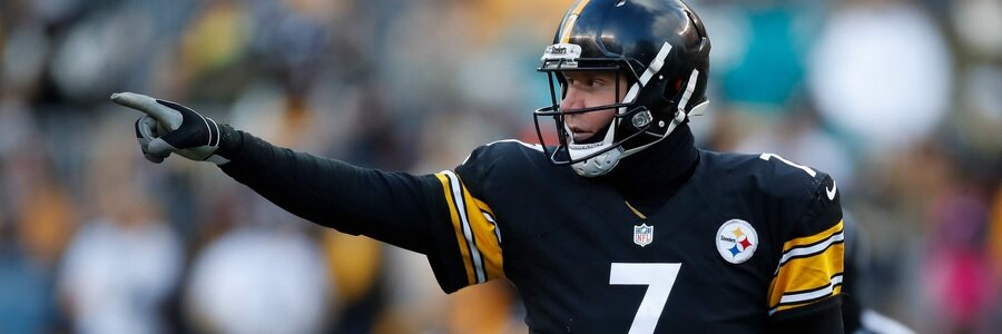 NFL Props Odds: Big Ben tossed 29 TD passes in 14 games in 2016 one year after being limited to 21 touchdown passes in a dozen games in 2015.