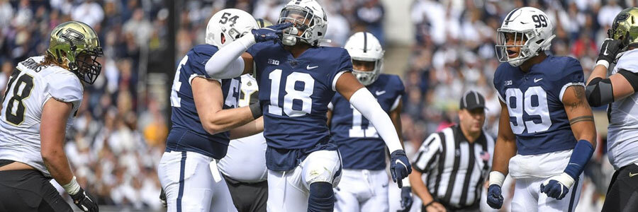 Penn State vs Michigan State 2019 College Football Week 9 Lines & Prediction.