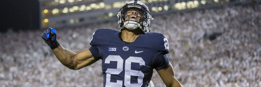 Despite their winning record, the NCAAF Week 9 Odds are against the Nittany Lions.