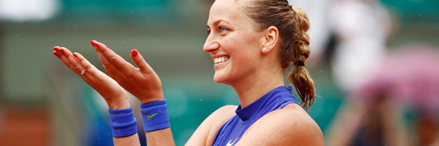 Petra Kvitova should be one of your Tennis Betting picks of the Week.