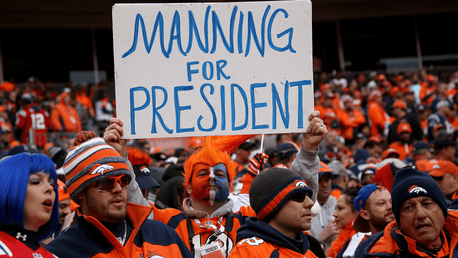 Peyton Manning achieved what Broncos fans wanted for a long time, to take Denver to the Super Bowl.
