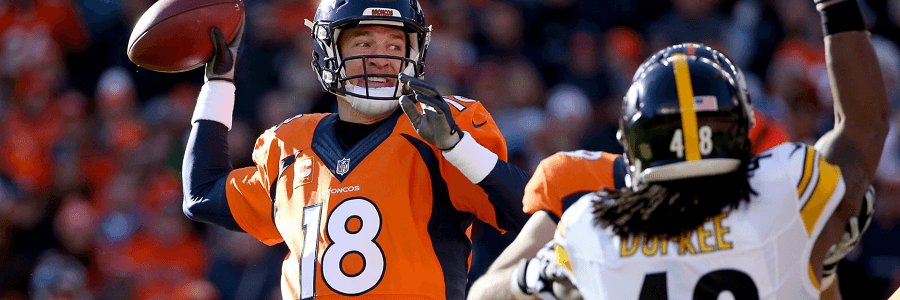 Peyton Manning came back at the right time for the Broncos.