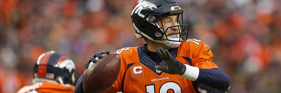 Peyton Manning and the Broncos were the Super Bowl Betting favorite for the XLVIII edition, but got crush by Seattle.
