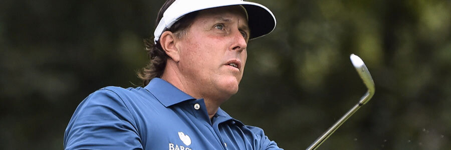 Phil Mickelson is one of the Golf Betting favorites to win the 2018 PGA's Military Tribute.