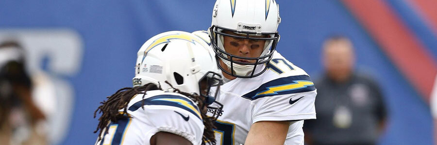 The Chargers have the NFL Spread for Week 11 by their side.