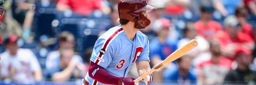 Phillies vs Diamondbacks MLB Odds, Game Info & Pick.