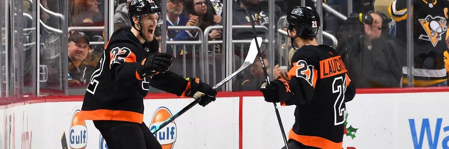 Flyers vs Rangers NHL Week 18 Odds, Preview & Pick.
