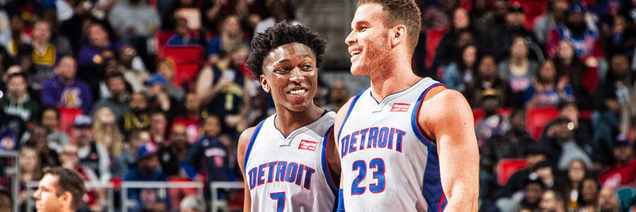 The Pistons should be one of your NBA Betting picks of the week.